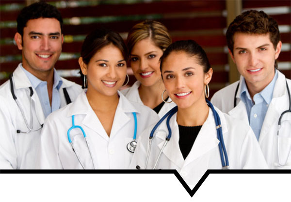 Knowledge in Numbers Image of Medical Doctors together